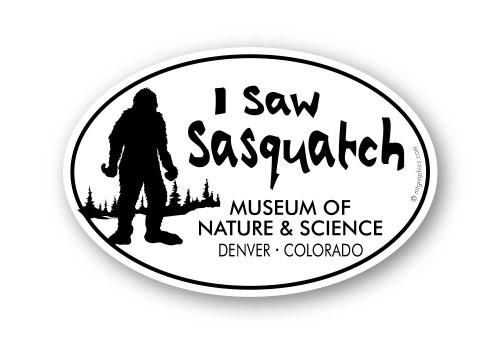 Wholesale I Saw Sasquatch Sticker