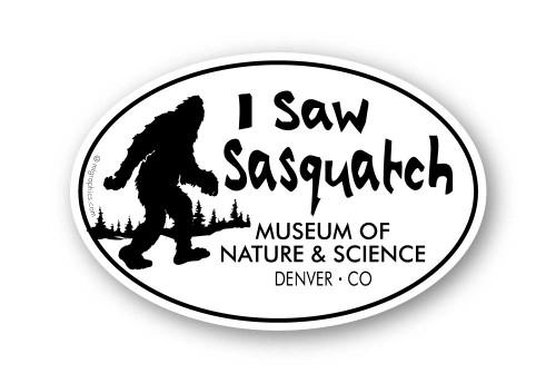 Wholesale I Saw Sasquatch Walking Sticker