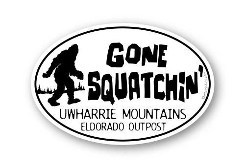 Wholesale Gone Squatchin' Sticker