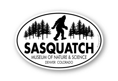 Wholesale Classic Walking Sasquatch Sticker