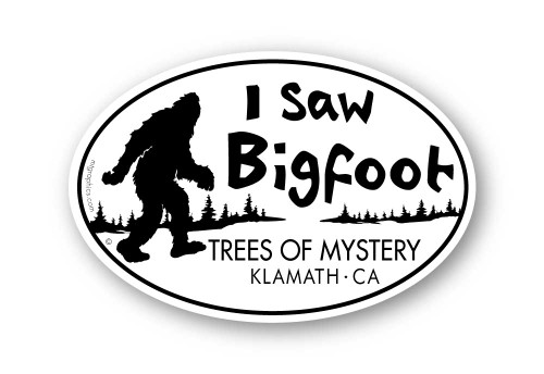 Wholesale I Saw Bigfoot Sticker