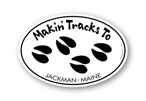 Wholesale Making Tracks Sticker