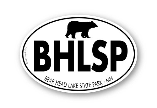 Wholesale Black Bear Bold Type Sticker