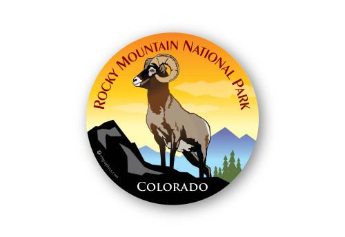 Wholesale Bighorn On Rock Sticker