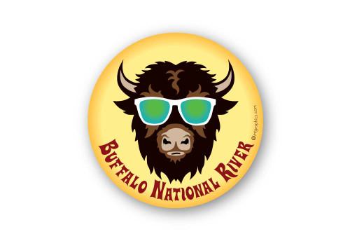 Wholesale Cool Buffalo Sticker