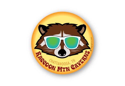 Wholesale Cool Raccoon Sticker