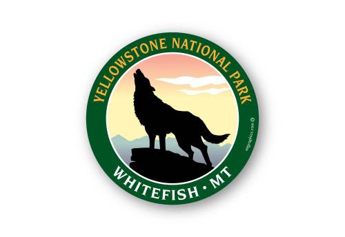Wholesale Wolf Sticker