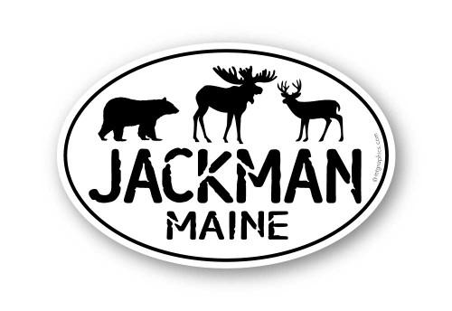 Wholesale Bear Moose Deer Sticker