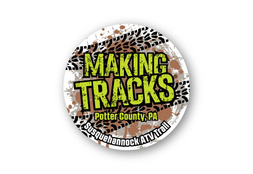 Wholesale Making Tracks ATV Sticker