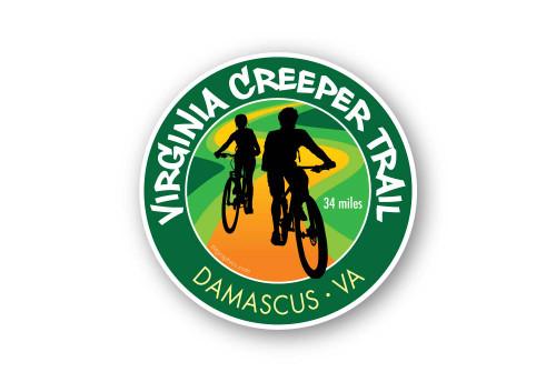 Wholesale Bike Trail 2 Bikers Sticker