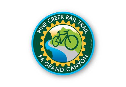 Wholesale Bike Trail Sticker