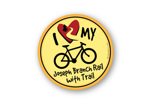 Wholesale I Love My Bike Sticker