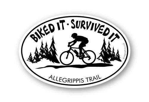 Wholesale Survived It Bike Sticker