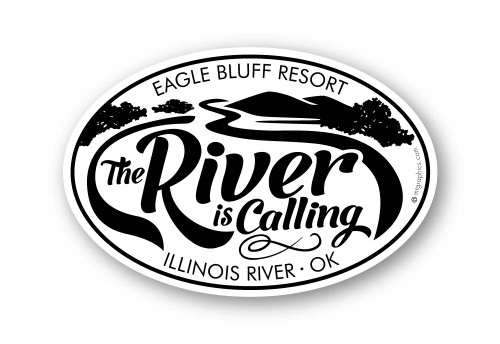 Wholesale The River Is Calling Sticker