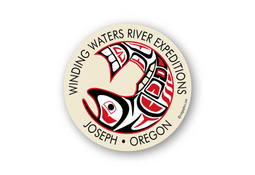 Wholesale Native Salmon Sticker