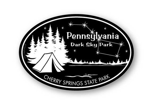 Wholesale Camping Big Dipper Sticker