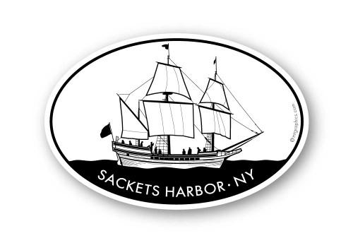 Wholesale Sailboat Sticker