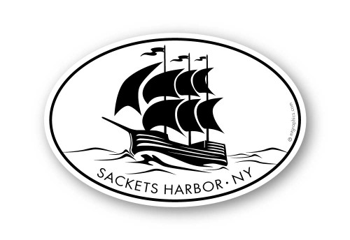 Wholesale Sailboat Silhouette Sticker