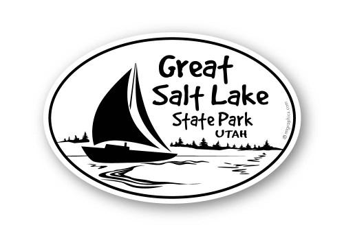 Wholesale Sailboat on Lake Sticker