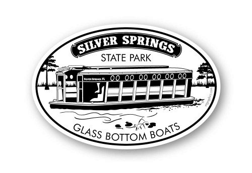 Wholesale Glass Bottom Boat Sticker