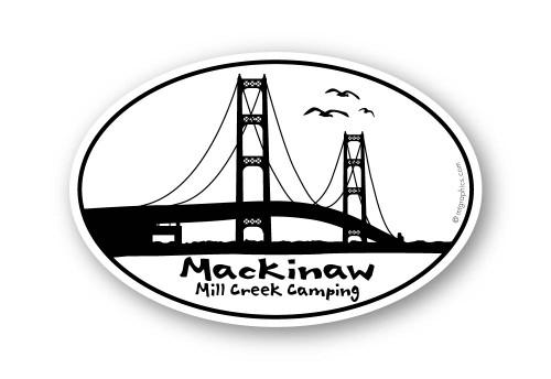 Wholesale Mackinaw Bridge Sticker