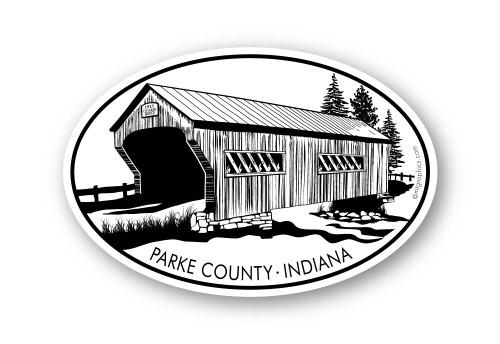 Wholesale Covered Bridge Sticker