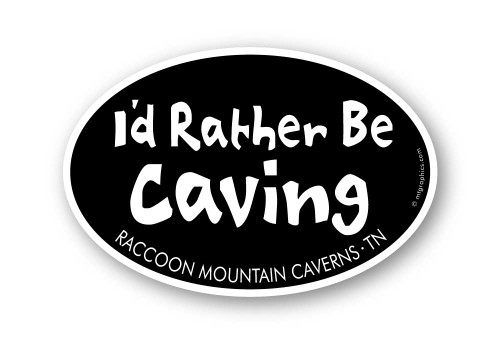 Wholesale I'd Rather be Caving Sticker