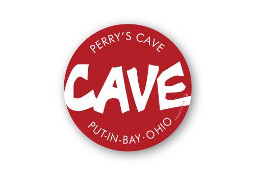 Wholesale Cave Sticker - Round