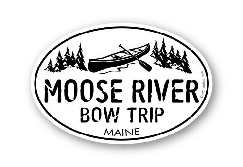 Wholesale Classic Canoe Sticker