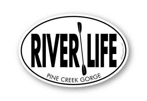 Wholesale River Life Sticker