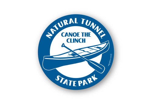 Wholesale Canoe Sticker - Round