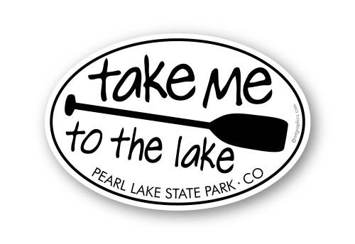 Wholesale Take Me to the Lake Canoe Paddle Sticker