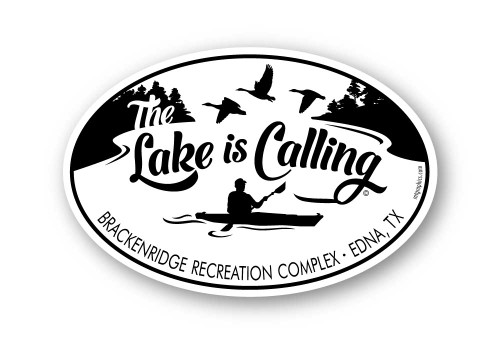 Wholesale The Lake is Calling Sticker