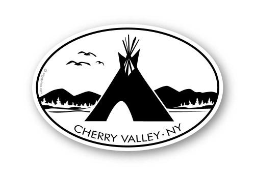 Wholesale Teepee Mountains Sticker