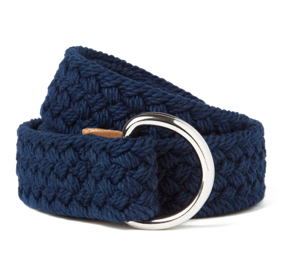 Navy Blue Reef Point Belt