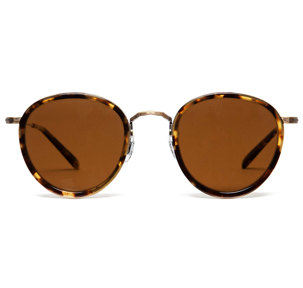 Oliver Peoples MP-2  DTB / Gold with Super Brown Polar Glass