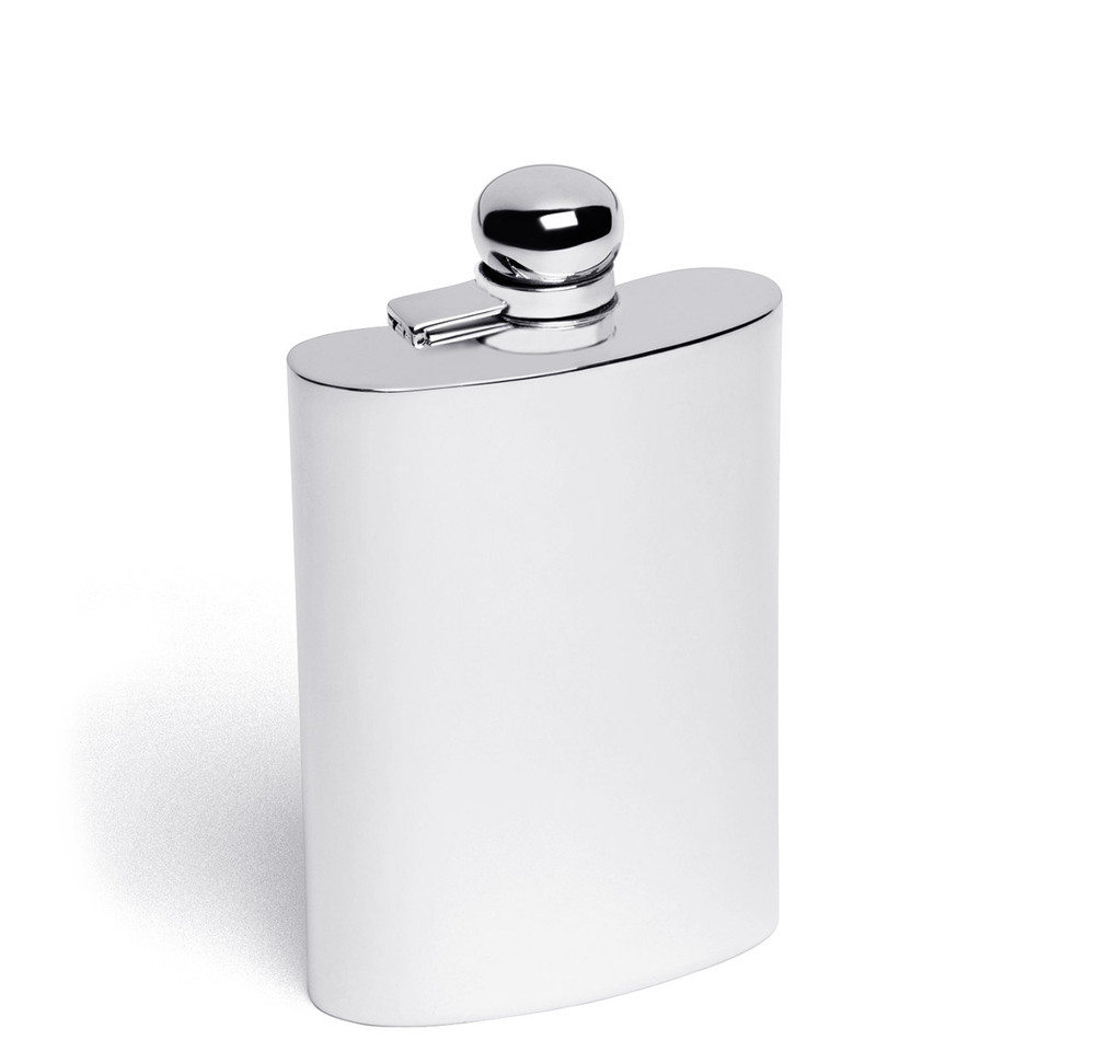 Sterling Silver 4oz Hip Flask