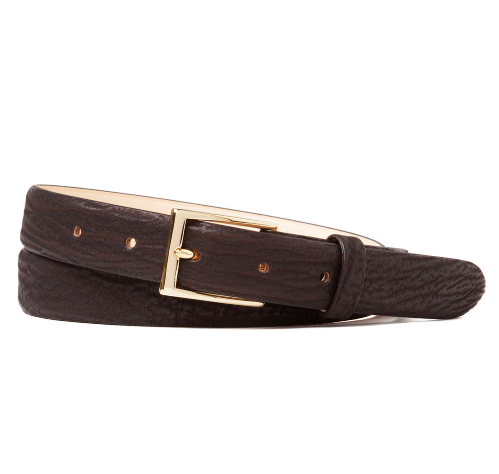 Shark Belt in Brown