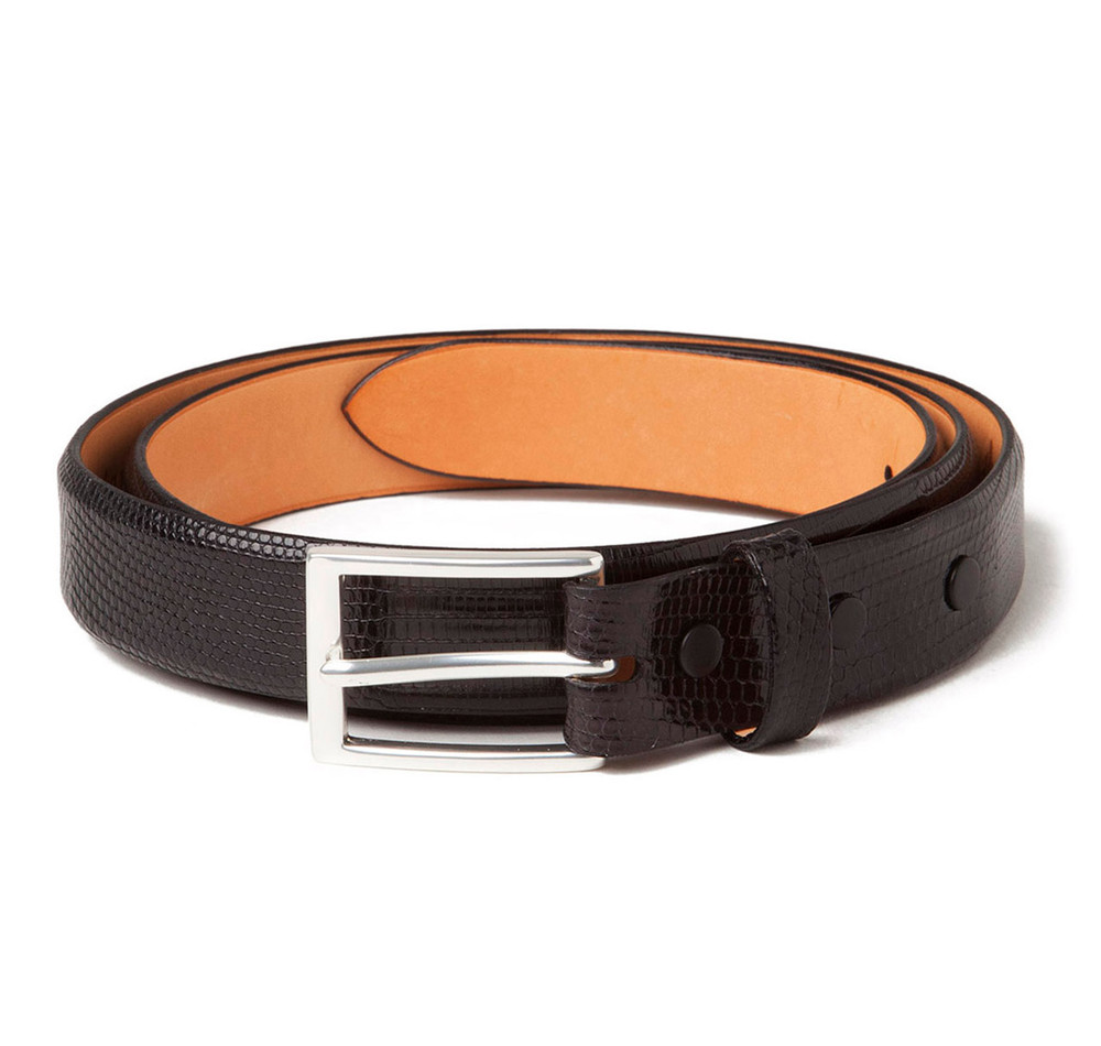 Lizard Belt in Black