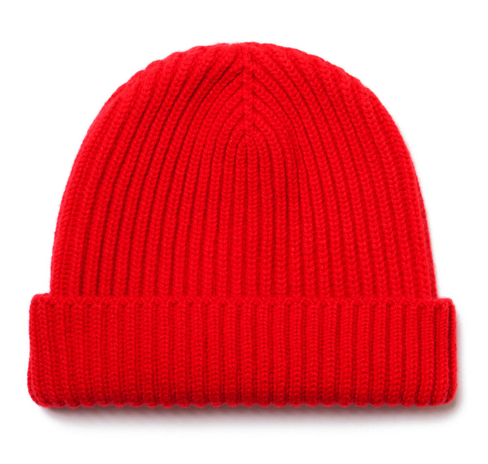 f3920592ab4 Classic Pure Cashmere Guards Red Watch Cap