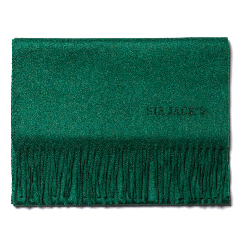 Evergreen Cashmere Scarf