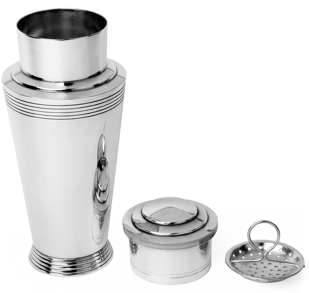 Keith Murray Silver-Plated 'Athenian' Cocktail Shaker