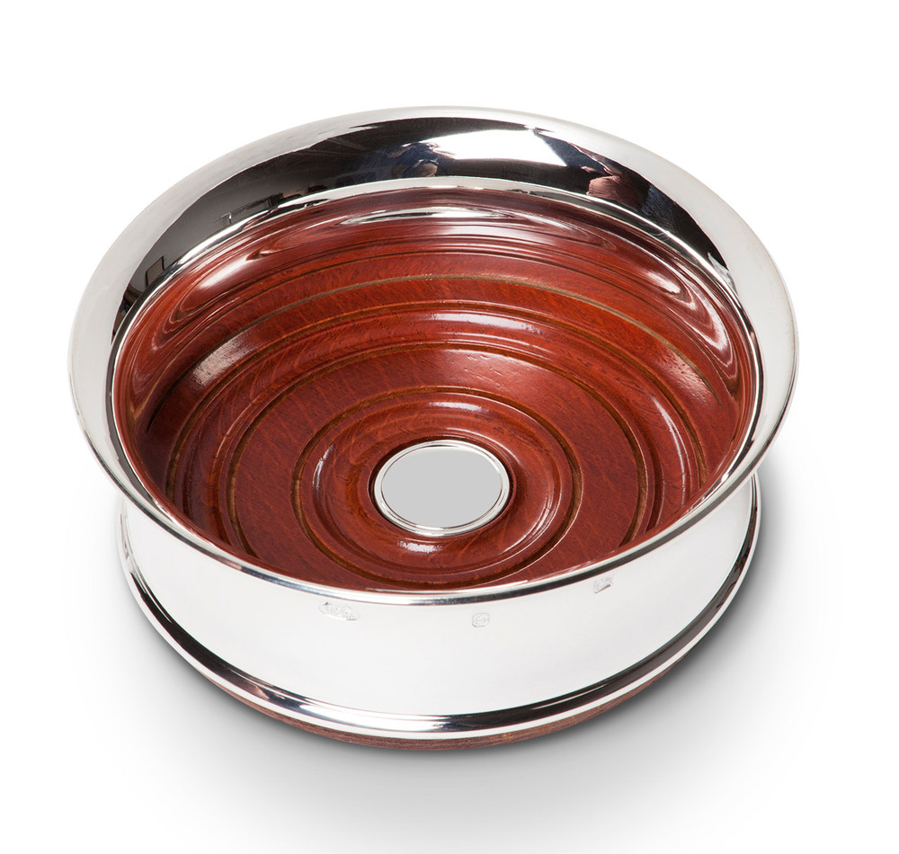 Sterling Silver Flared Wine Coaster