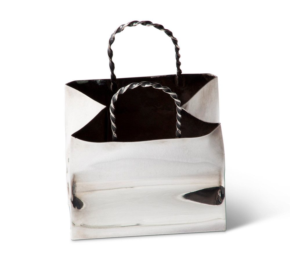 Cartier Sterling Silver Shopping Bag