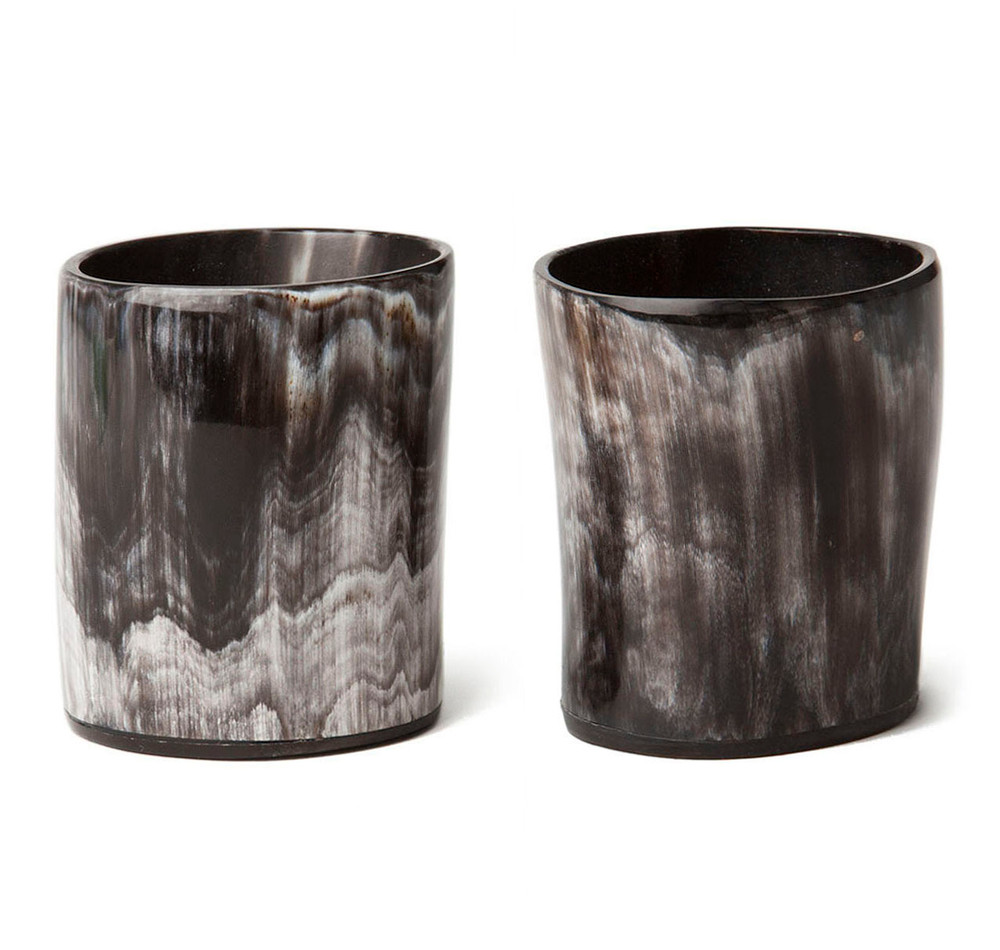 Sir Jack's Ox Horn Single Old Fashioned Whiskey Tumblers