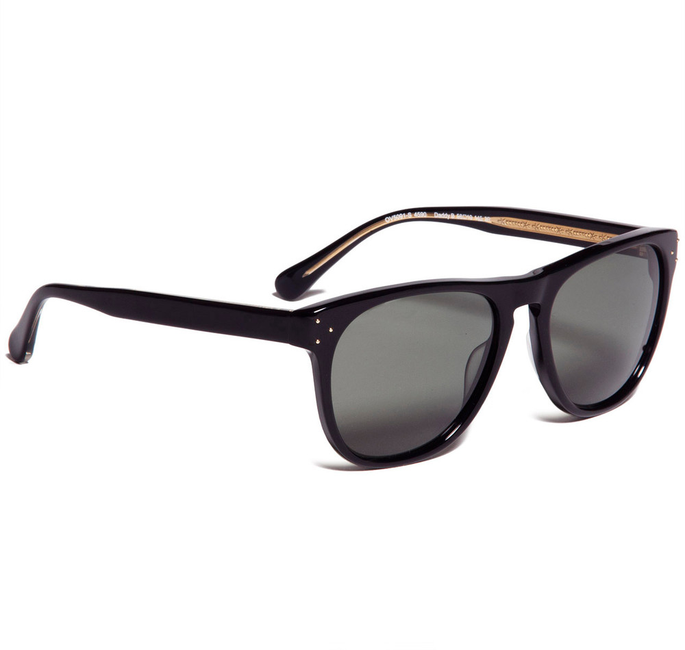 Oliver Peoples Daddy B Black with G15 Polar Glass