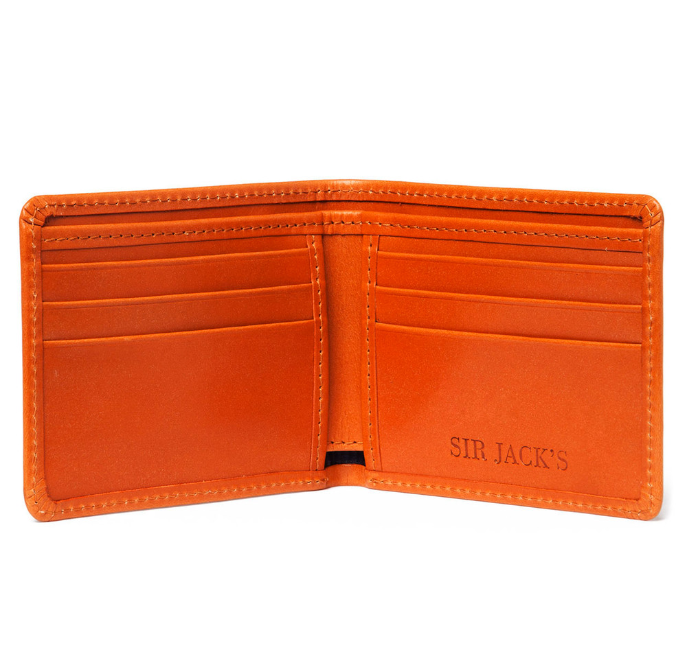 London Tan Billfold Wallet
