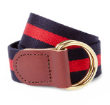 Brigade Red Stripe Ribbon Belt