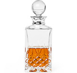 Sterling Silver & Crystal Balmore Spirits Decanter