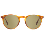 Oliver Peoples Sir O'Malley Sun Vintage Light Brown with Green Photochromic Glass